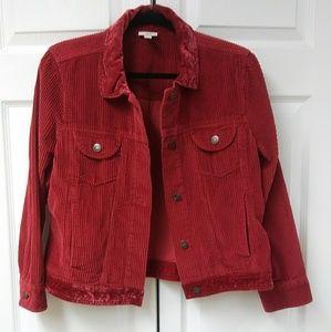 J.Jill corduroy jacket size MP